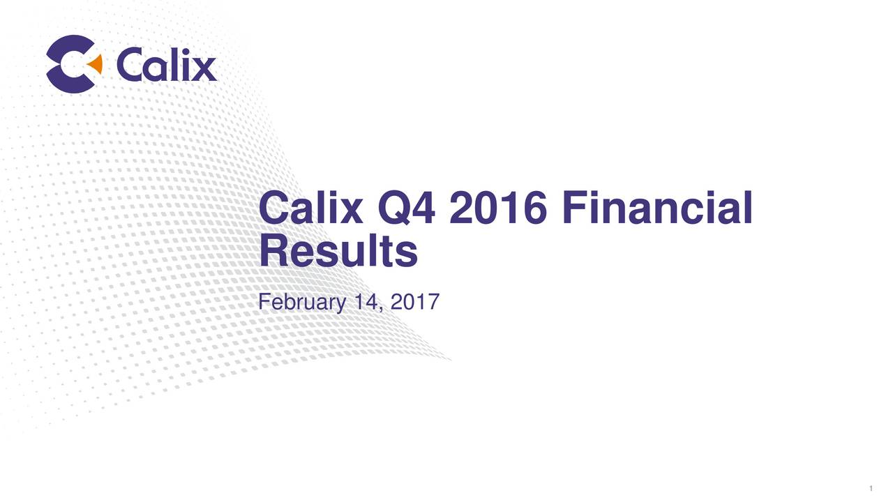 Results February 14, 2017