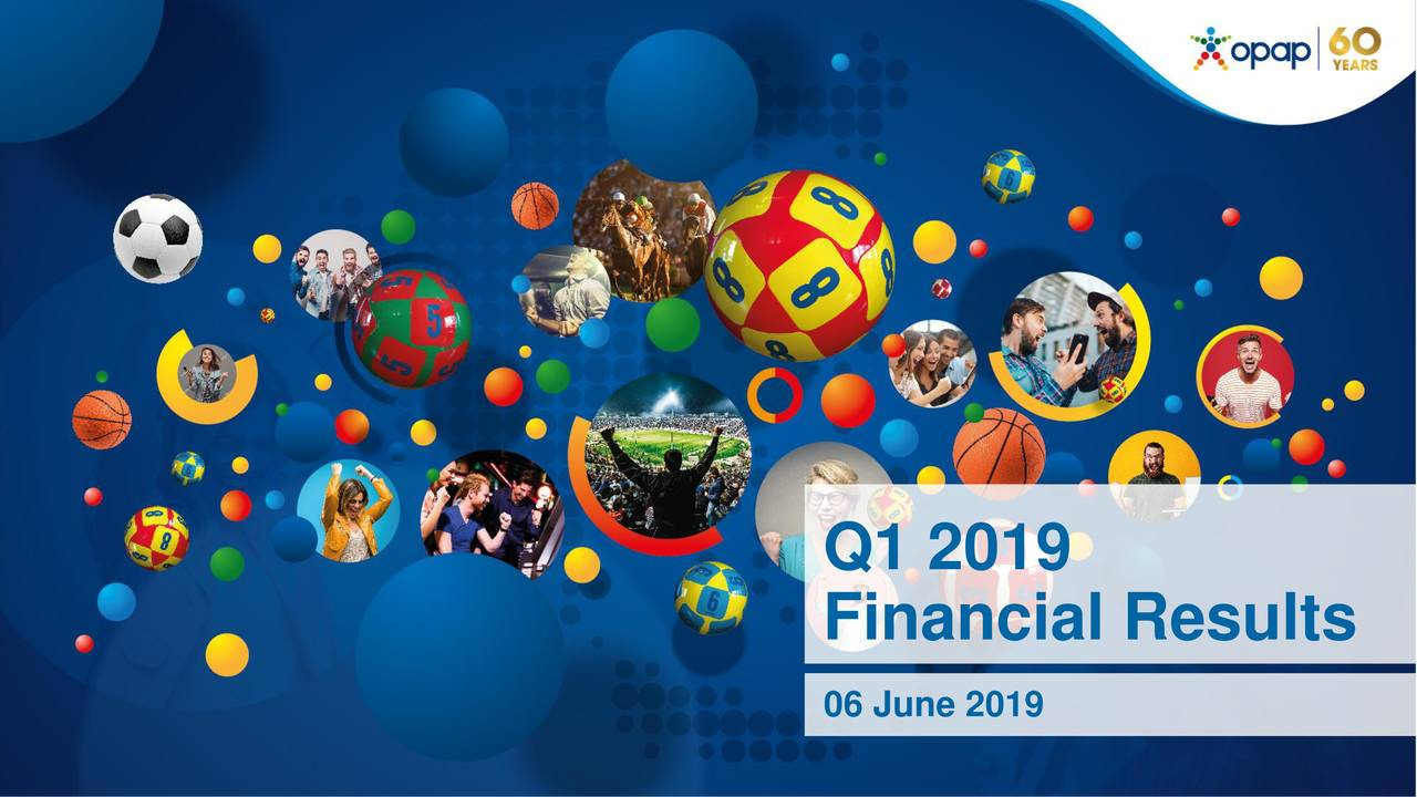 Greek Organization of Football Prognostics S.A. 2019 Q1 - Results - Earnings Call Slides