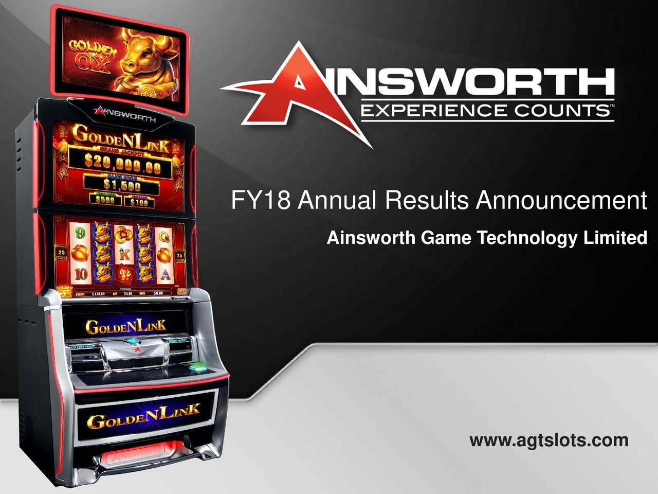 Ainsworth Game Technology Ltd
