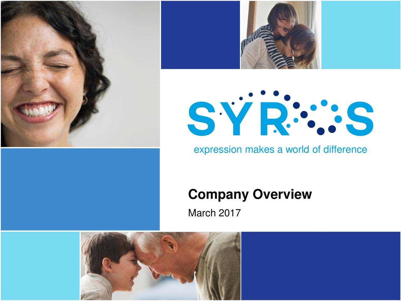Company Overview March 2017 1