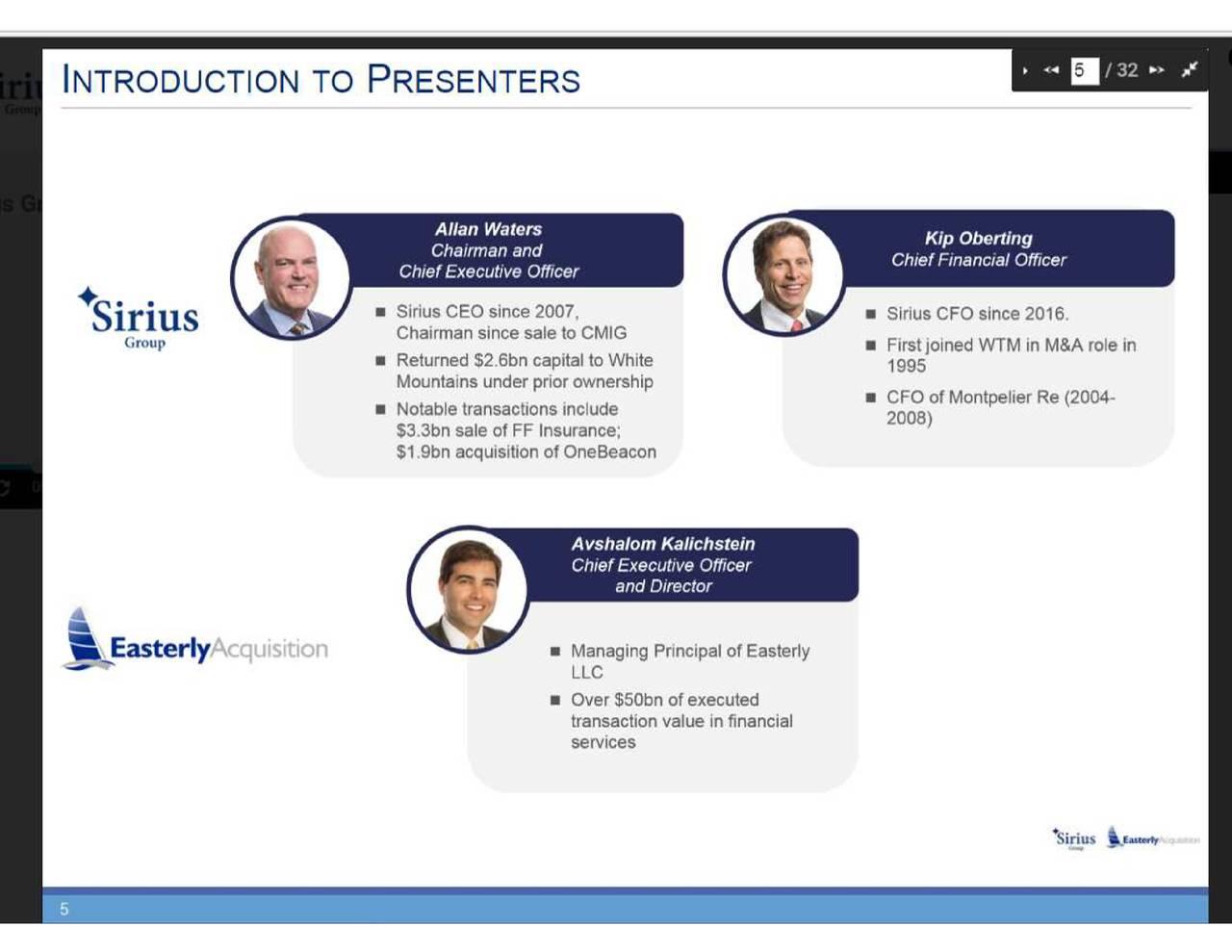 Sirius international insurance group ipo