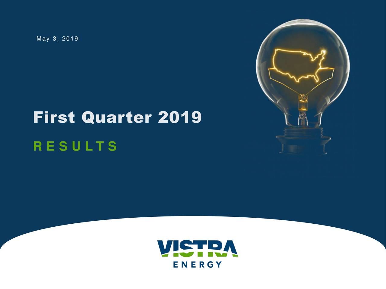 First Quarter 2019 R E S U L T S