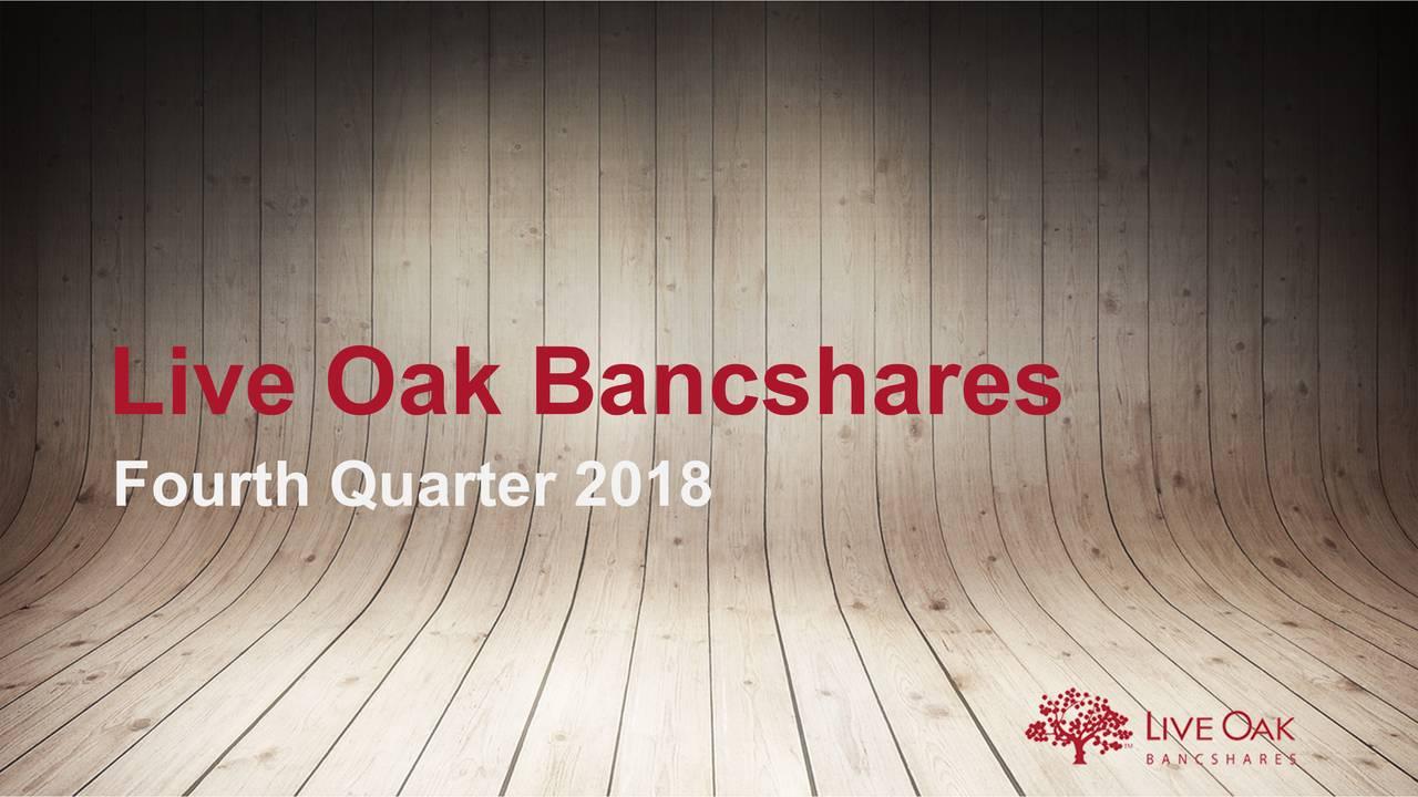 Live oak bancshares inc ipo