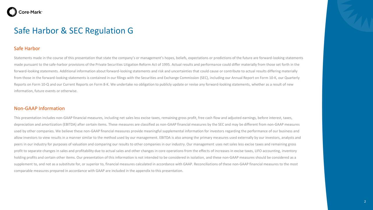 Safe Harbor y SEC Regulación G