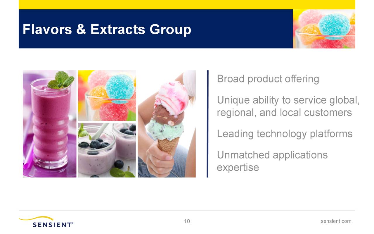 Flavors & Extracts Group
