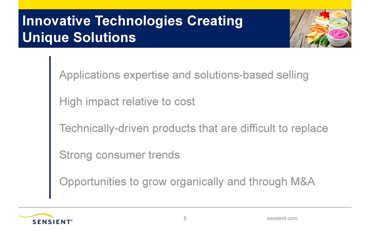 Innovative Technologies Creating