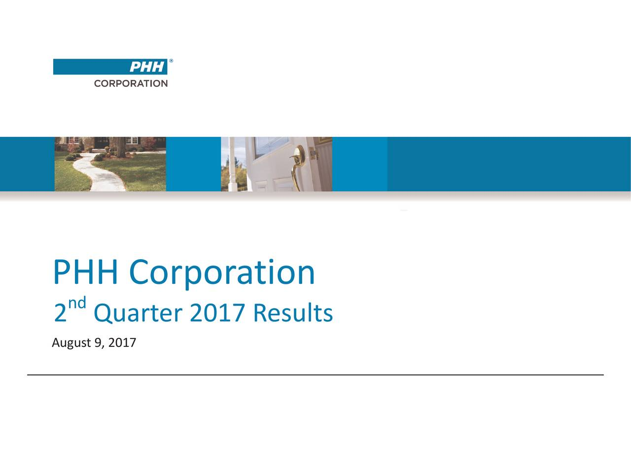 nd 2 Quarter 2017 Results August9, 2017