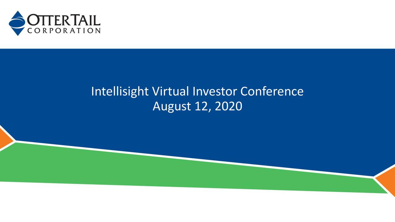 Otter Tail (OTTR) Presents At Intellisight Investor Conference - Slideshow (NASDAQ:OTTR)
