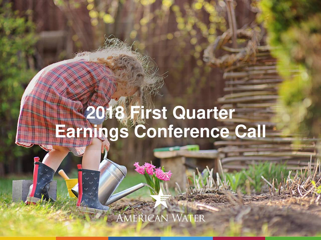 Earnings Conference Call NYSE: AWK