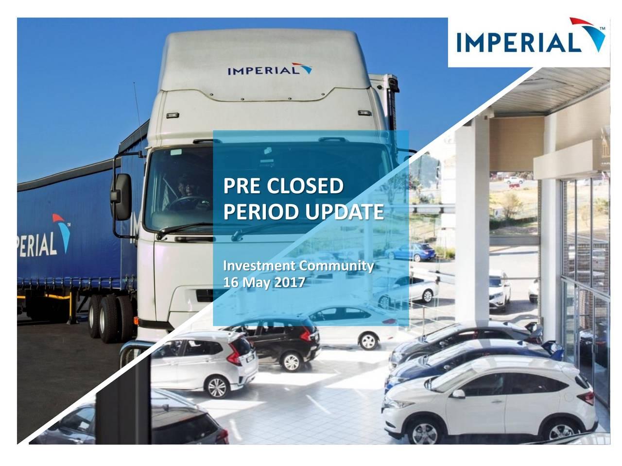 Imperial Holdings (IHLDY) Investor Presentation - Slideshow
