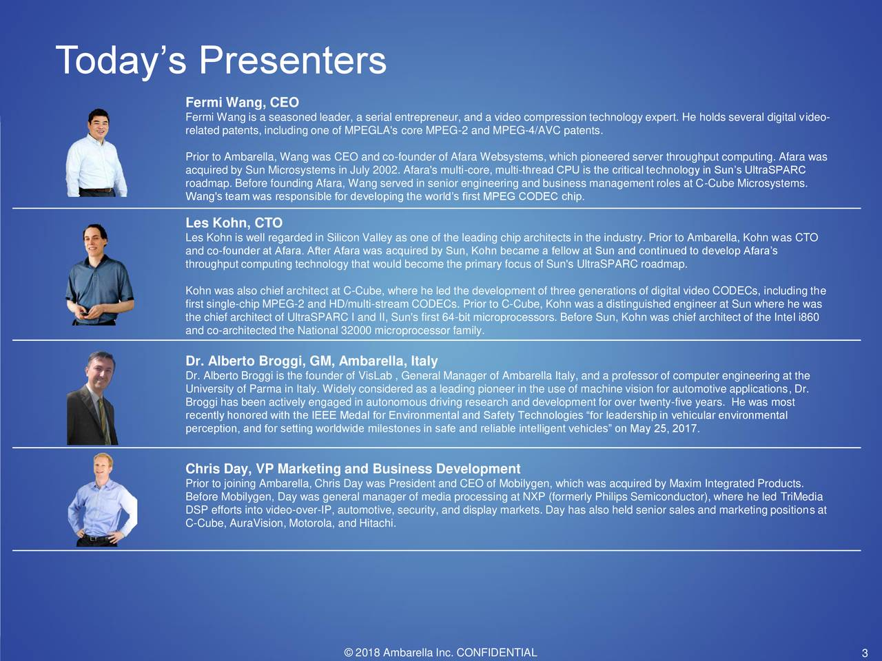 Ambarella (AMBA) Investor Presentation - Slideshow ...