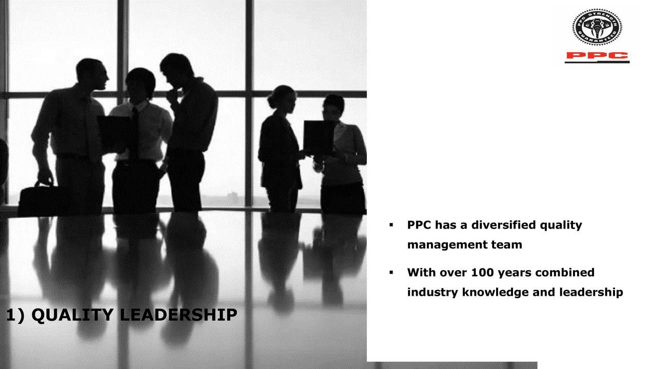 Ppc Ppcly Presents At Rmb Morgan Stanley Big Five Investor Conference Slideshow Ppc