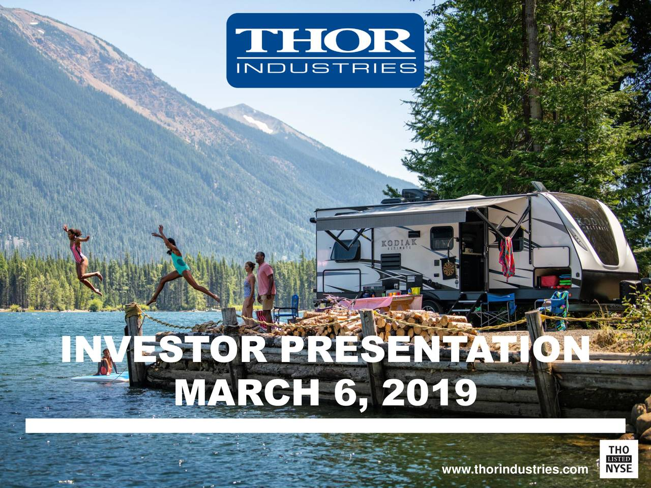 MARCH 6, 2019 www.thorindustries.com