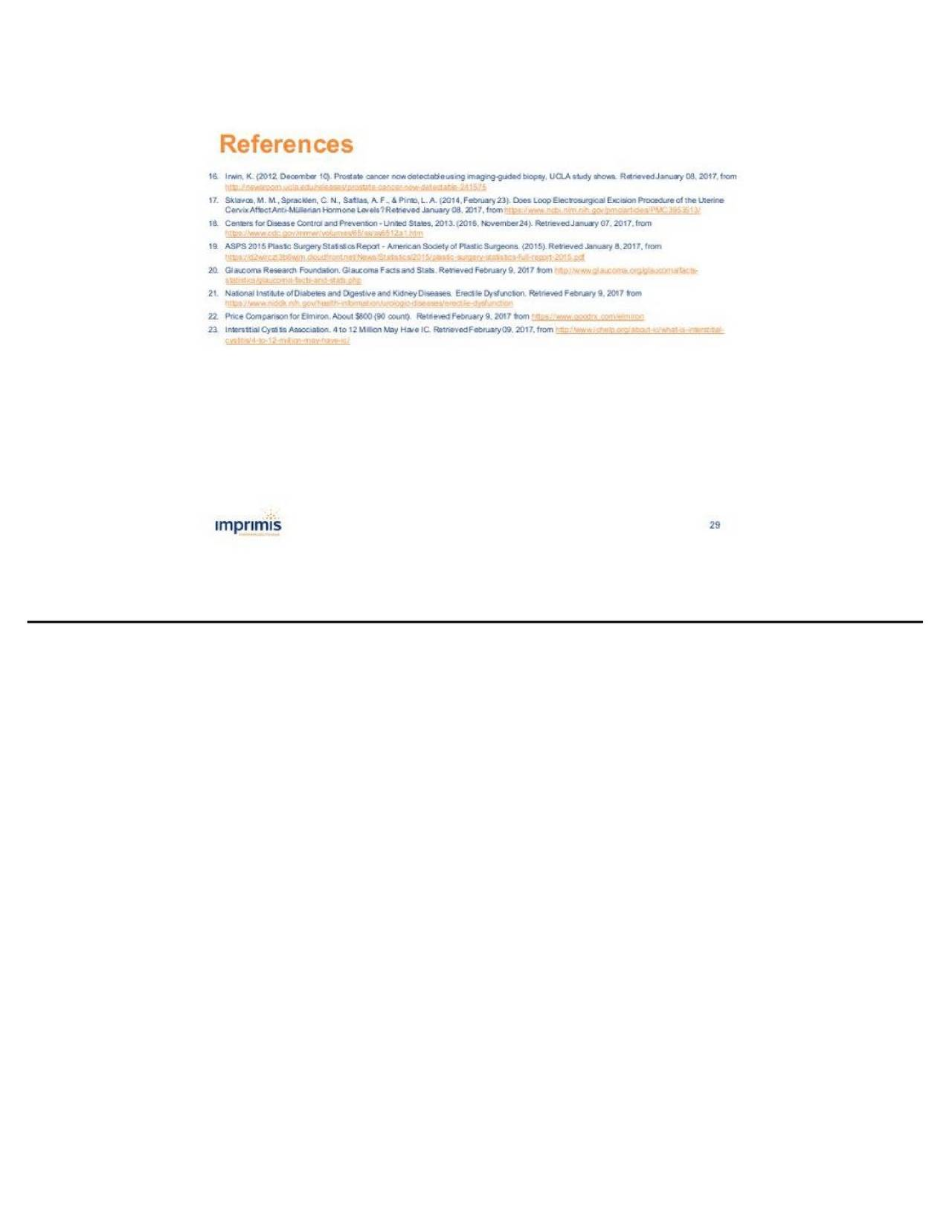 Imprimis Pharmaceuticals (IMMY) Investor Presentation