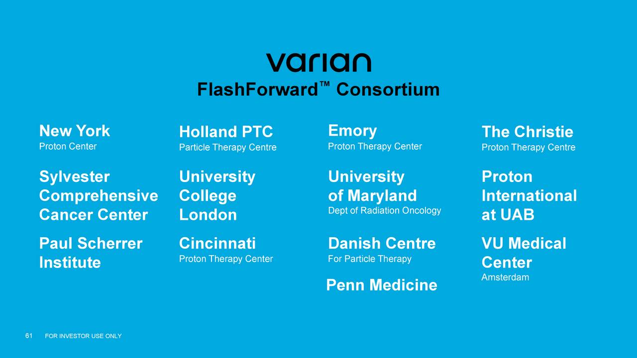 Varian Medical Systems Inc 2018 Q3 Results Earnings