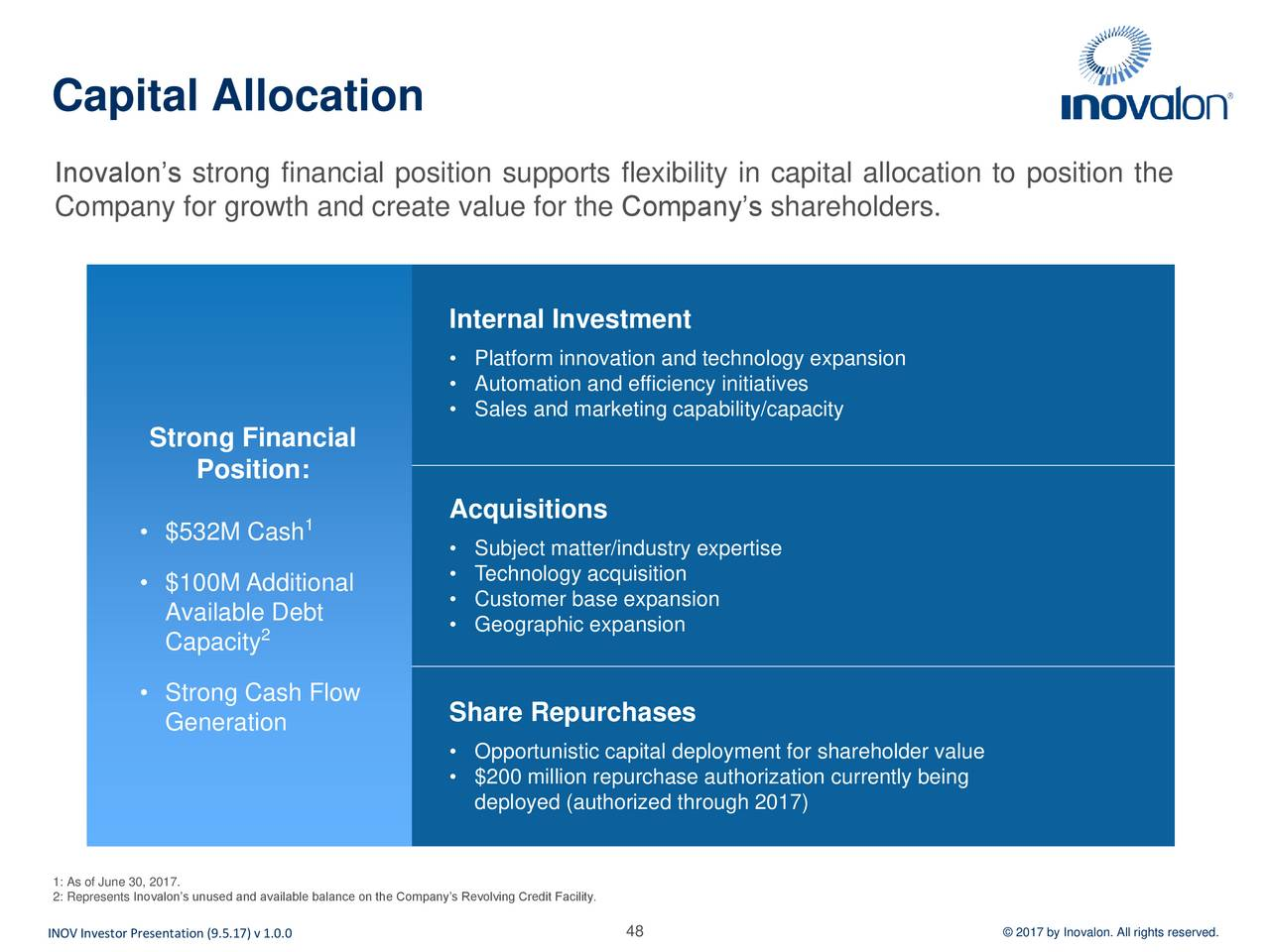 Inovalon Holdings Inov Presents At Morgan Stanley 15th