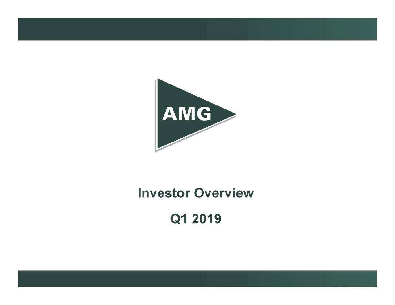 Affiliated Managers Group (AMG) Investor Presentation - Slideshow