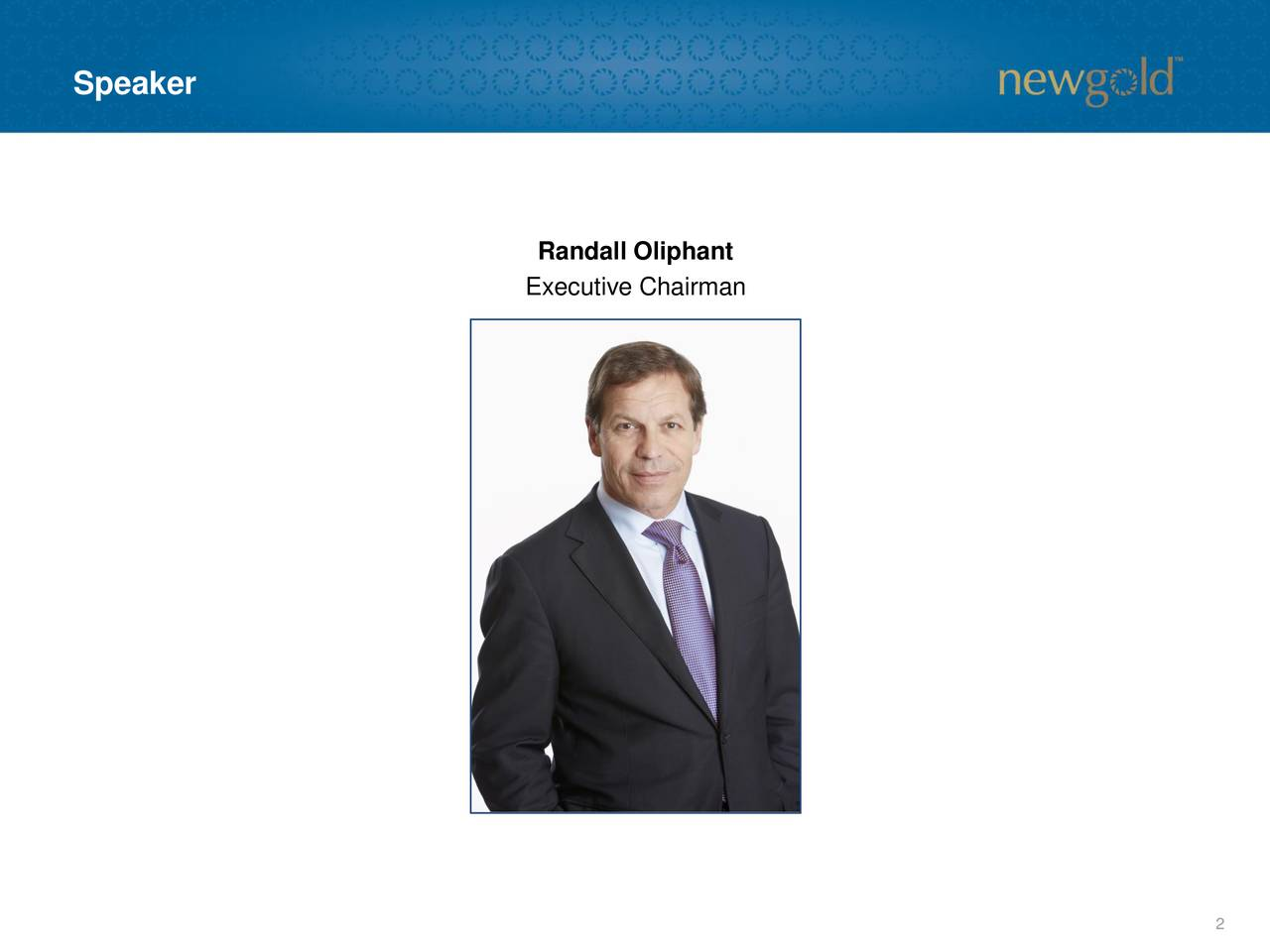 Randall Oliphant Executive Chairman 2
