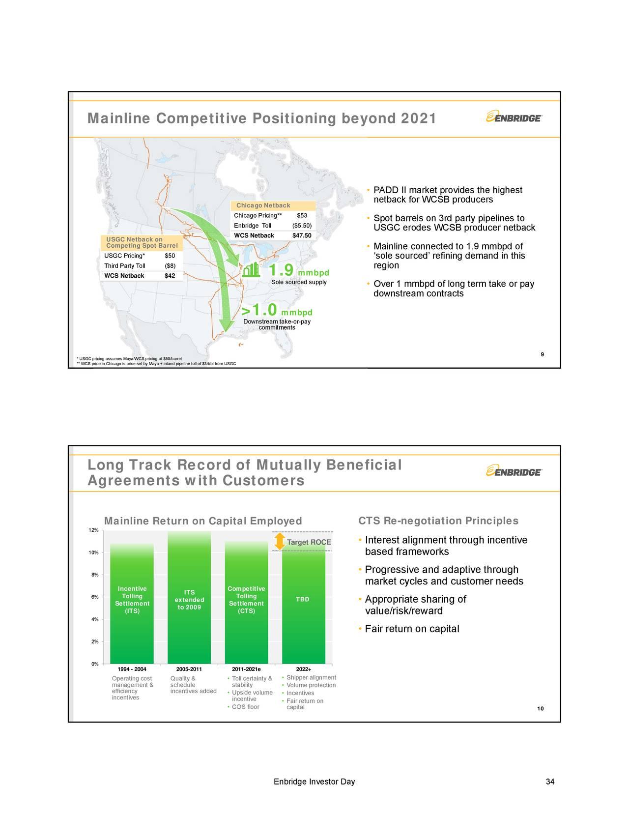 Enbridge Energy Partners Eep Investor Presentation