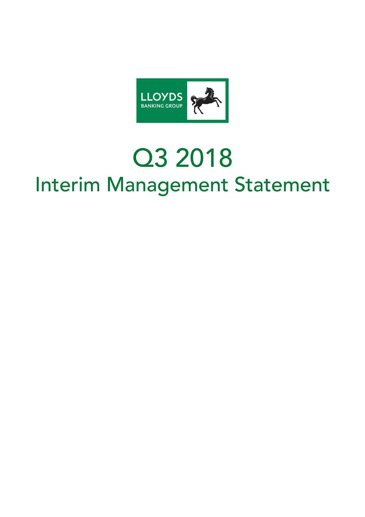 Interim Management Statement
