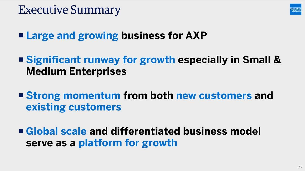 American Express (AXP) Investor Presentation - Slideshow ...