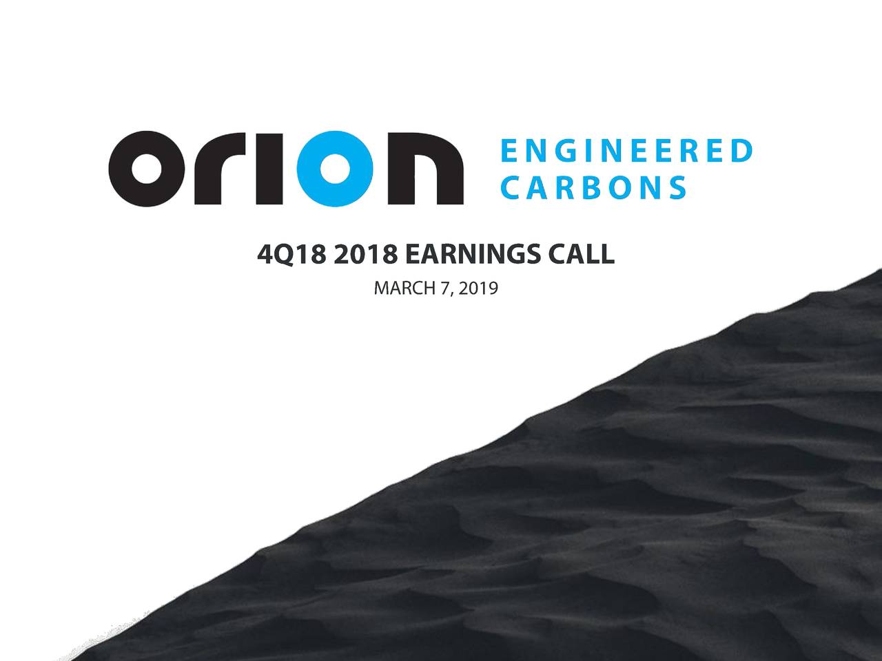 Orion engineered carbons sarl ipo