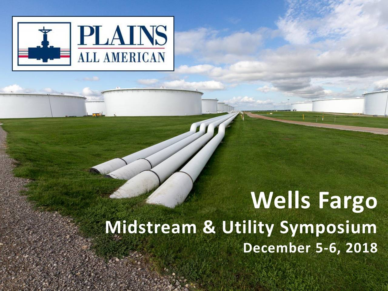 Midstream & Utility Symposium December 5-6, 2018