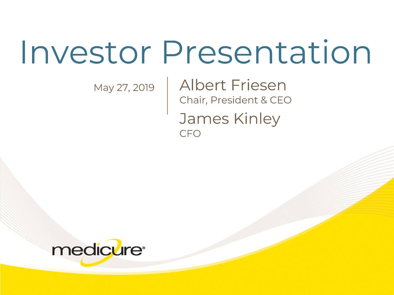 Medicure (MCUJF) Investor Presentation - Slideshow