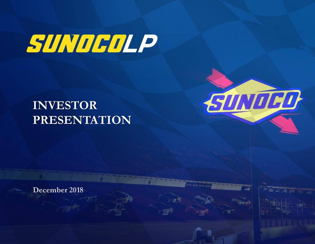 Sunoco (SUN) Investor Presentation - Slideshow - Sunoco LP