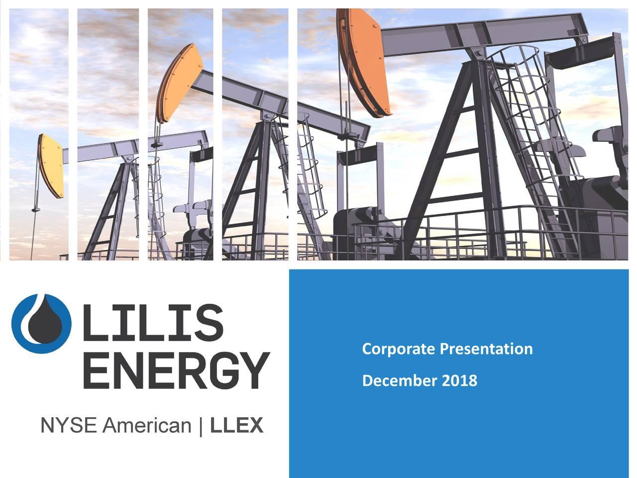 December 2018 NYSE American  LLEX