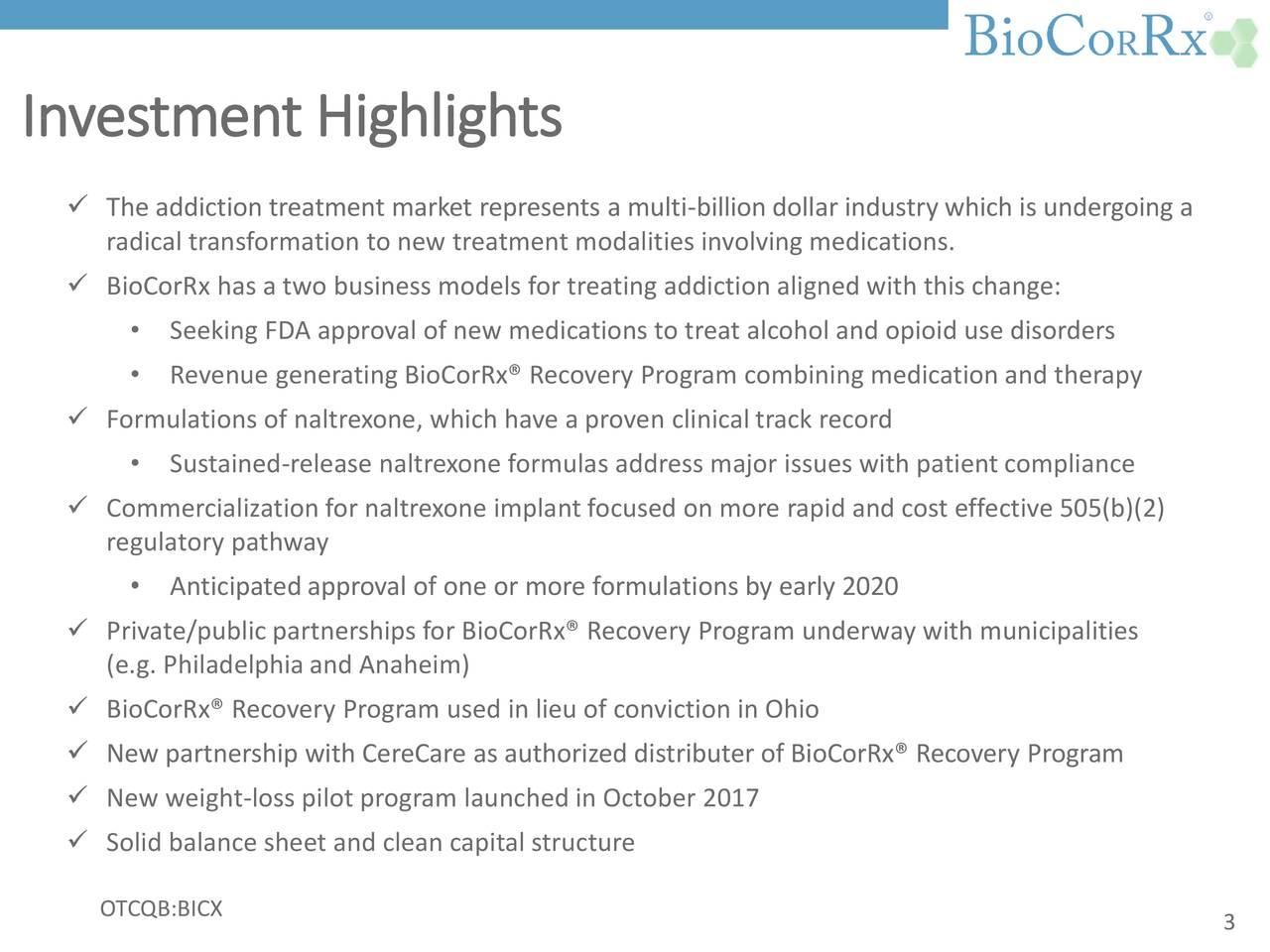 BioCorRx (BICX) Investor Presentation - Slideshow ...