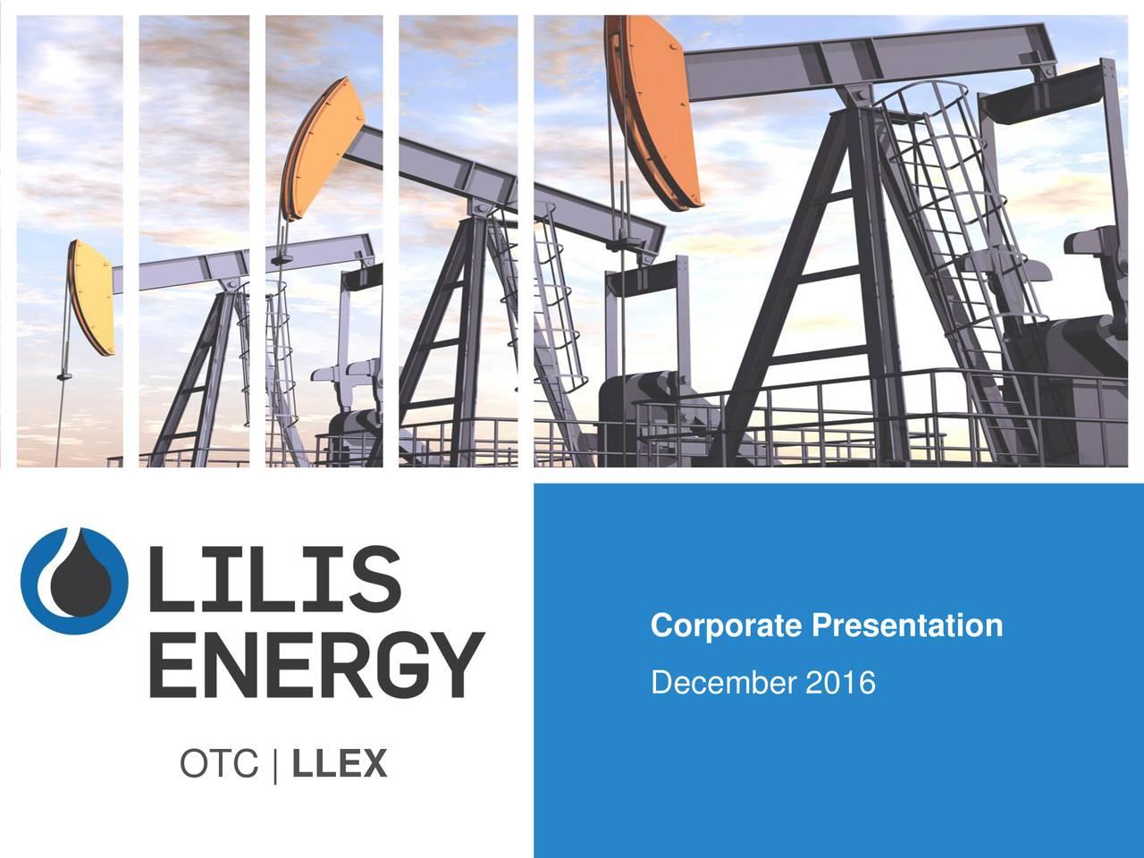 December 2016 OTC | LLEX