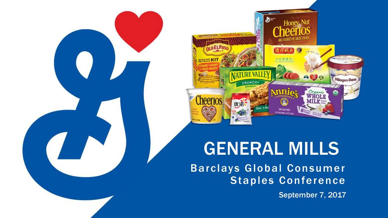General Mills Inc. - Understanding Financial Stamens Essay