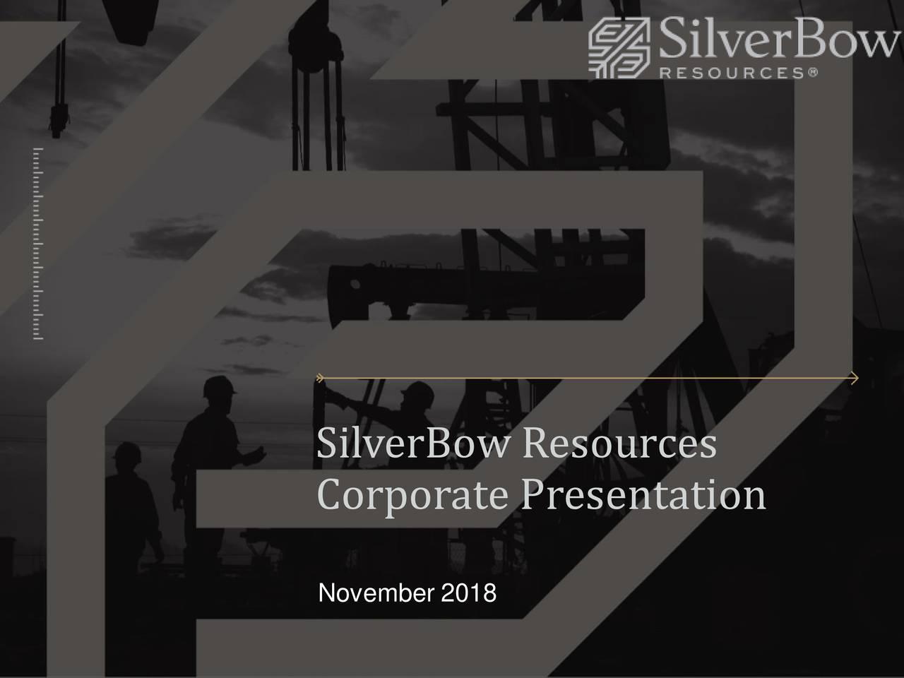 Corporate Presentation November 2018