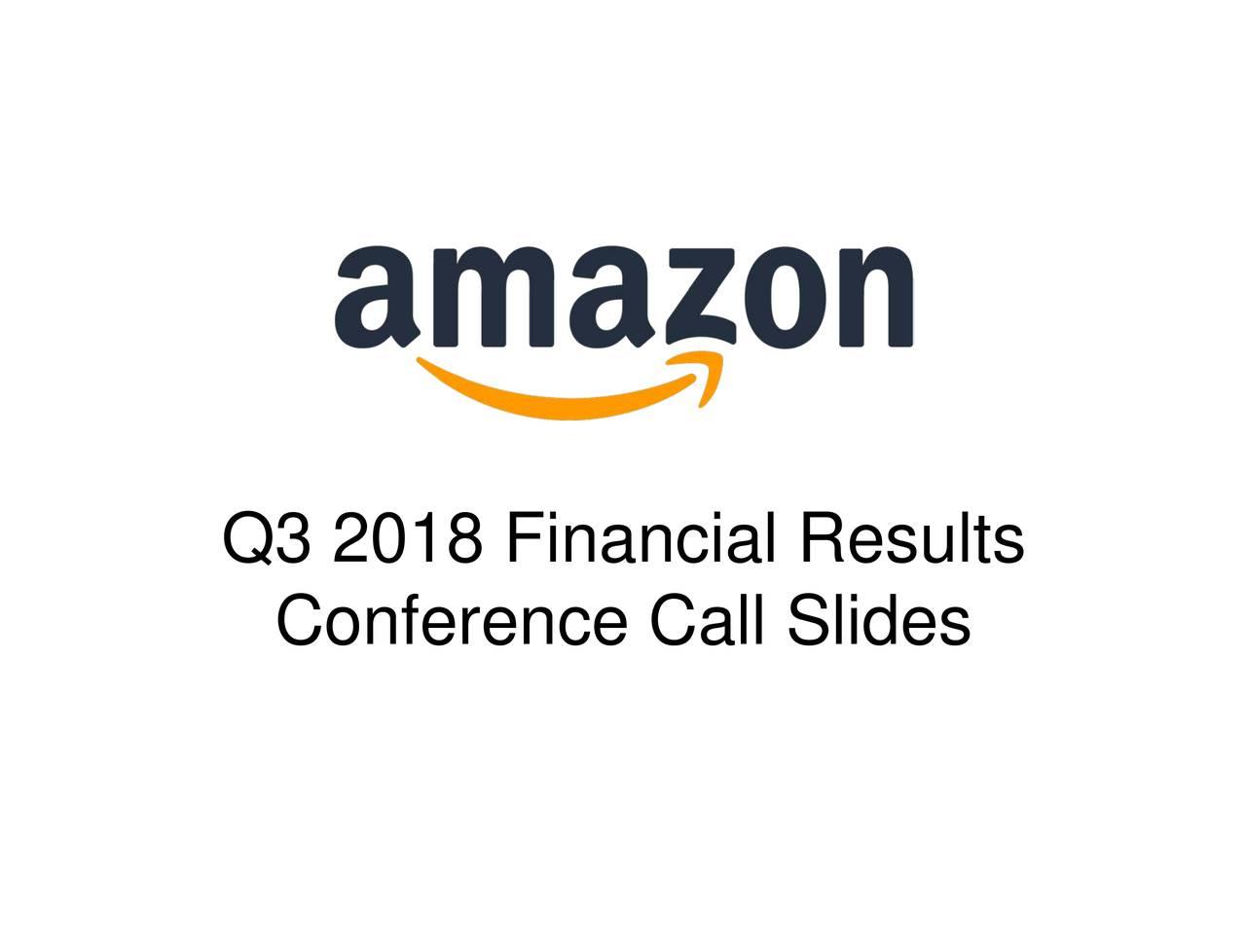 Amazon.com, Inc. 2018 Q3 - Res...