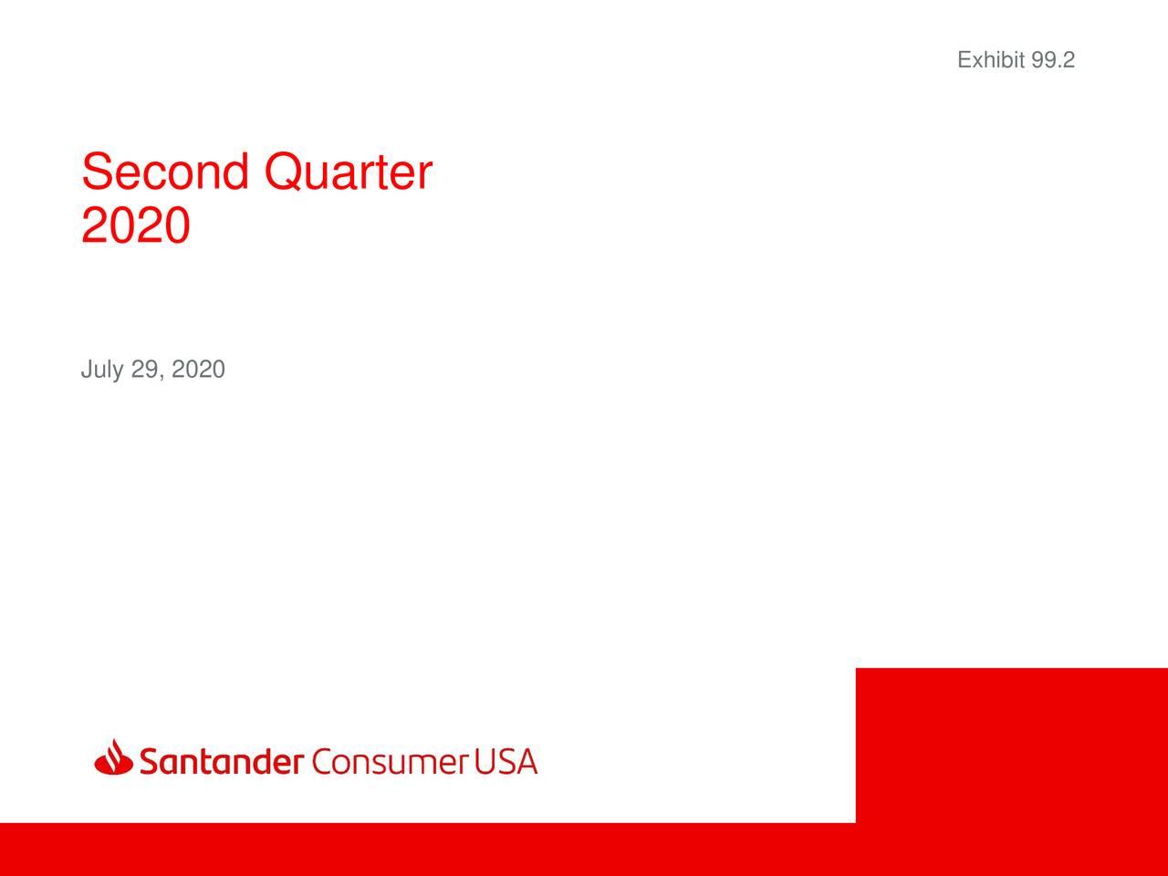 Santander Consumer USA Holdings Inc. 2020 Q2 - Results - Earnings Call  Presentation (NYSE:SC)