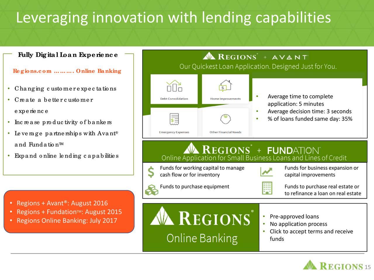Regions Financial (RF) Presents At Bank of America Merrill
